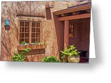 Adobe Gallery, Santa Fe Greeting Card