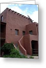 Adobe House At Red Rocks Colorado Greeting Card