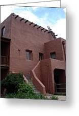 Adobe House At Red Rocks Colorado Greeting Card