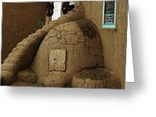 Adobe Oven Greeting Card