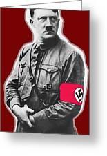Adolf Hitler Crossed Hands Circa 1934-2015 Greeting Card