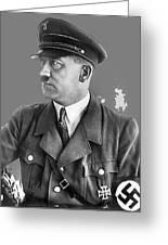 Adolf Hitler Portrait Heinrich Hoffmann Photo Circa 1935-2016 Greeting Card