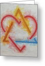 Adoption Symbol Greeting Card