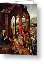Adoration Of The Magi Greeting Card
