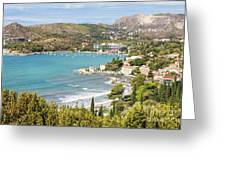 Adriatic Coast In Croatia Greeting Card