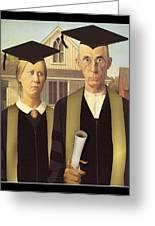 Adult Graduates Greeting Card