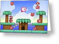 Adventure Kirby Greeting Card