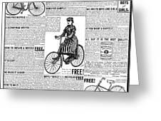 Advertisement, 1891 Greeting Card