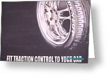 Adverts On Tyres Greeting Card