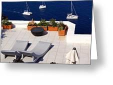 Aegean Wonderland Greeting Card