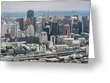 Aerial San Francisco Greeting Card