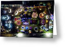 Aerial View Of Norco Fair - Pottstown Pa Greeting Card