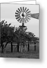 Aermotor Windmill San Joaquin County Ca Greeting Card