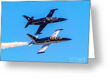 Aero L-39c Albatros Jet Trainers Greeting Card