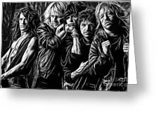 Aerosmith Collection Greeting Card