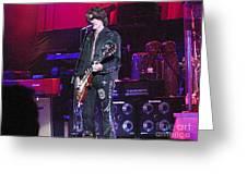 Aerosmith-joe Perry-00022 Greeting Card