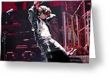 Aerosmith-joe Perry-00053 Greeting Card