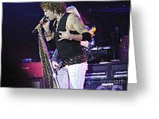 Aerosmith-steven Tyler-00059 Greeting Card