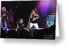 Aerosmith-steven Tyler-00175 Greeting Card