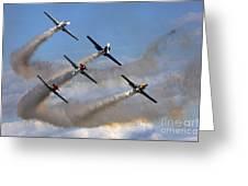 Aerostars Greeting Card