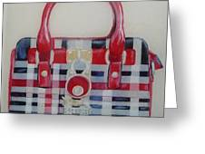 Affordable Burberry Greeting Card
