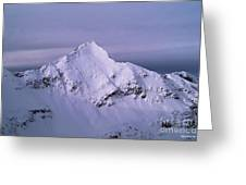Afley Peak Greeting Card