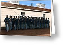African American Troops In Us Civil War - 1965 Greeting Card