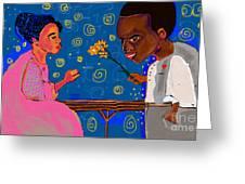 African Boy Greeting Card