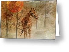 African Dream Greeting Card