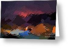 African Landscapes Greeting Card