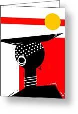 African Magic  Greeting Card