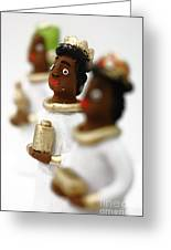 African Wise Men Greeting Card by Gaspar Avila