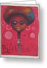 Afro American Women Greeting Card