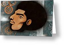Afrocentriverse Greeting Card