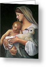 After Bouguereau Greeting Card