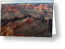 After Sunset Colors In The Grand Canyon Greeting Card by Pierre Leclerc Photography