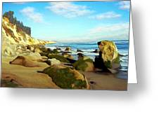 After The Fog Gaviota Greeting Card