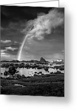 After The Rain Ballintoy Greeting Card