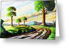 After The Rains Greeting Card