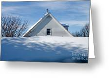 After The Snowfall Greeting Card