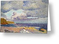 After The Storm The Bather Greeting Card