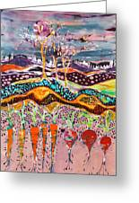 After The Thunderstorm Greeting Card by Carol Law Conklin