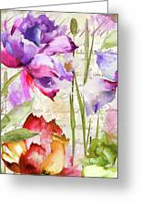 Afterglow I Greeting Card