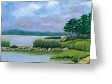 Afternoon At Pilgrim Greeting Card