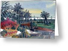 Afternoon In The Keys Greeting Card