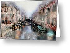 Afternoon In Venice IIi Greeting Card