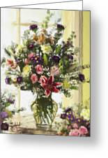 Afternoon Kissed Of Color Greeting Card