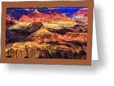 Afternoon Light At Mather Point, Grand Canyon Greeting Card