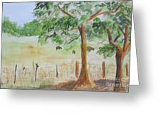 Afternoon On The Farm 2 Greeting Card