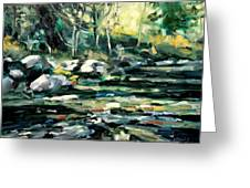 Afternoon River Greeting Card